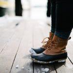 обувки със сняг